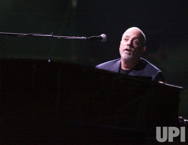 Billy Joel performs at Key Arena
