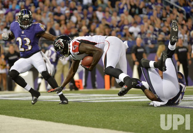 Baltimore Ravens vs Atlanta Falcons in Baltimore