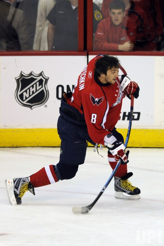 Alex Ovechkin in Washington, DC