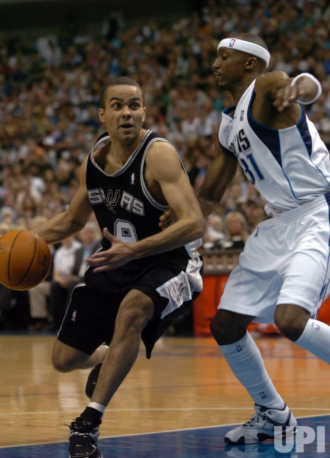 NBA PLAYOFFS DALLAS MAVERICKS VS SAN ANTONIO SPURS