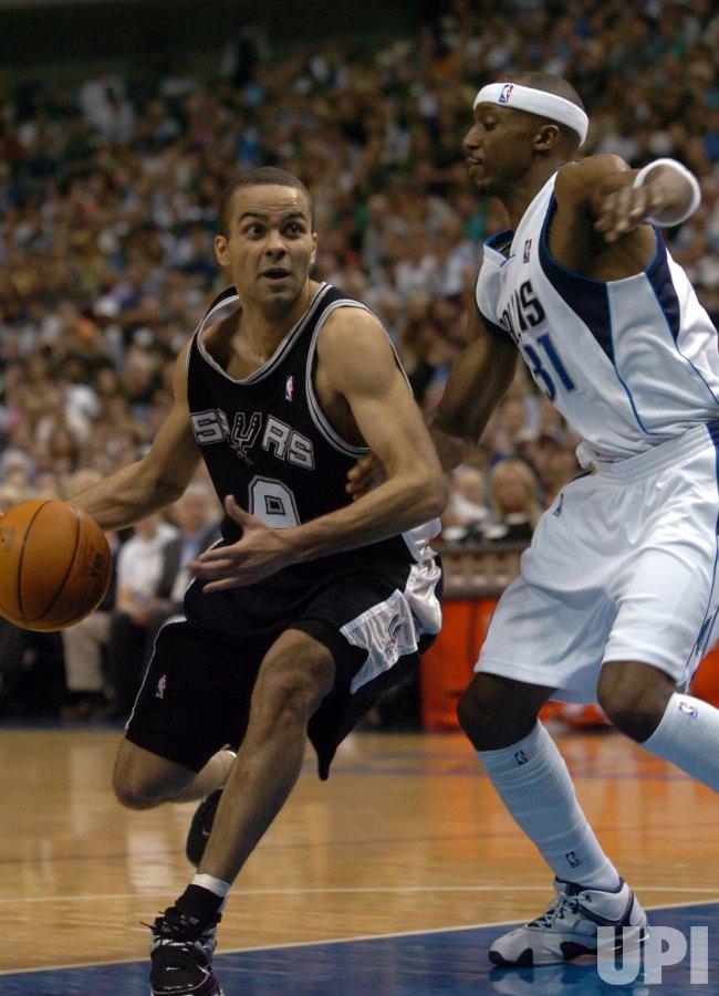 NBA PLAYOFFS DALLAS MAVERICKS VS SAN ANTONIO SPURS