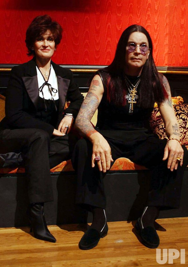 THE OSBOURNES ON VIEW AT MADAME TUSSAUD'S NEW YORK