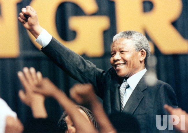 Nelson Mandela at Washington Convention Center
