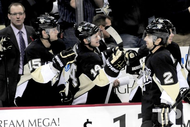 Penguins Matt Niskanen Celebrates Winning Goal in Pittsburgh