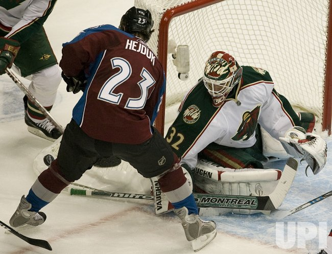 Minnesota Wild vs Colorado Avalanche