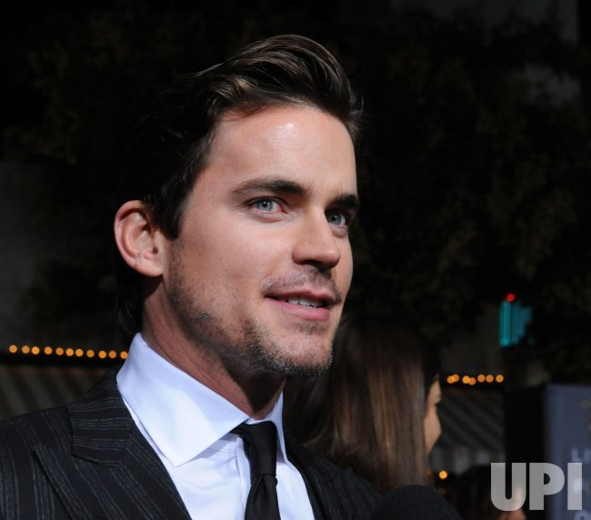 "Matt Bomer attends the ""In Time"" premiere in Los Angeles"