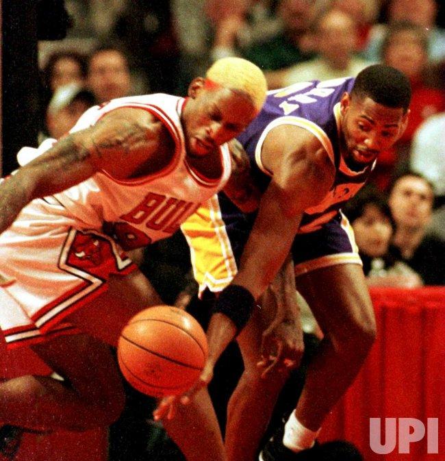 Bulls' Dennis Rodman