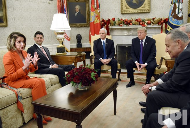 President Trump and VP Pence meet with Congressional leadership