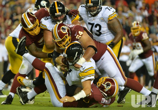 Pittsburgh Steelers vs Washington Redskins
