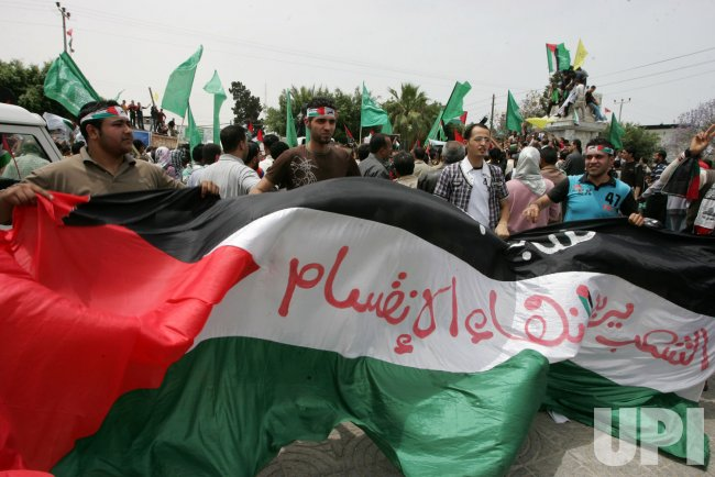 Palestinians celebrate reconciliation between Hamas, Fatah in Gaza