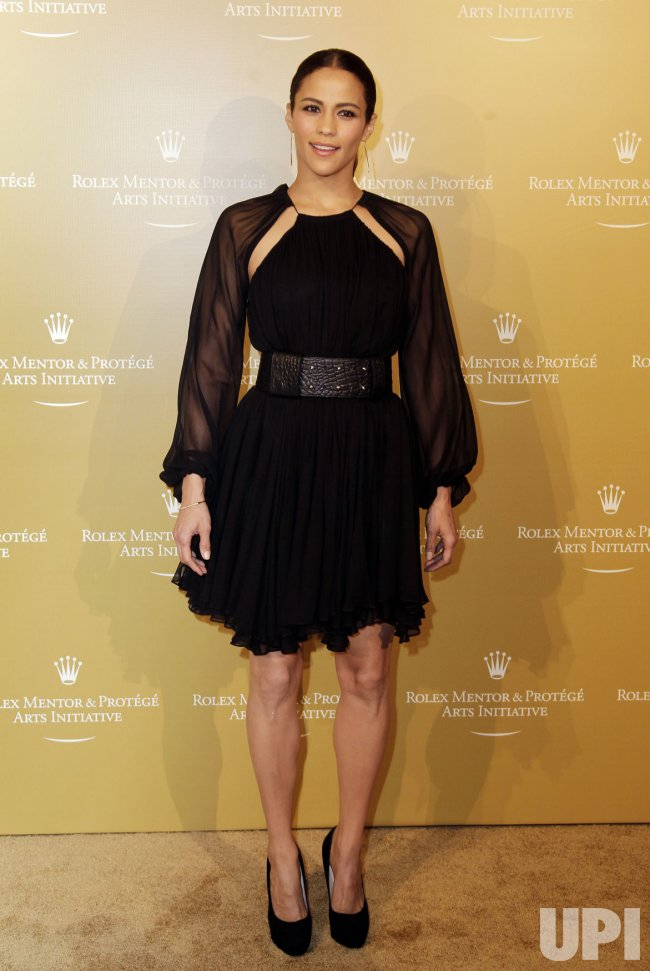 Paula Patton arrives at the 2011 Rolex Mentor & Protege Arts Initiative at Lincoln Center in New York