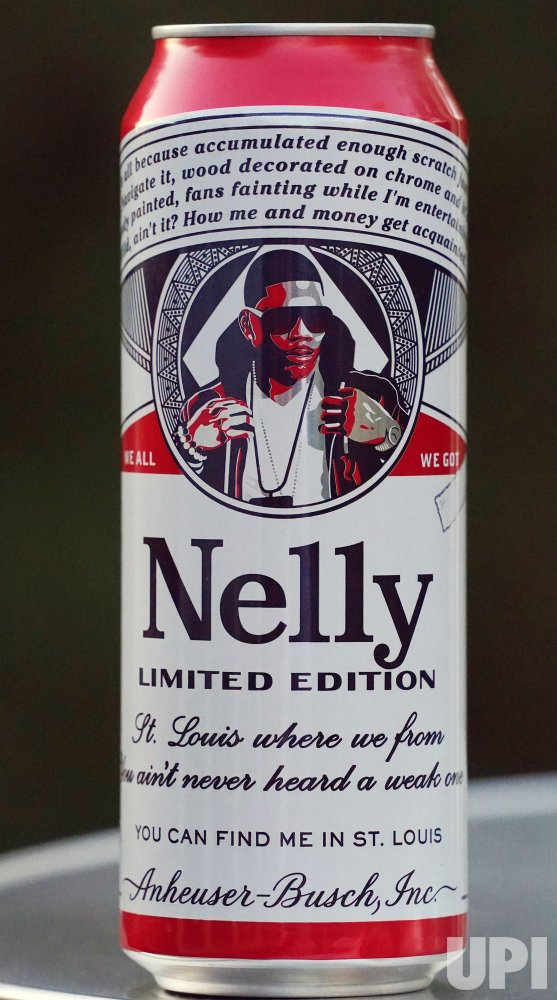 Singer Nelly Has His Own Budweiser Can