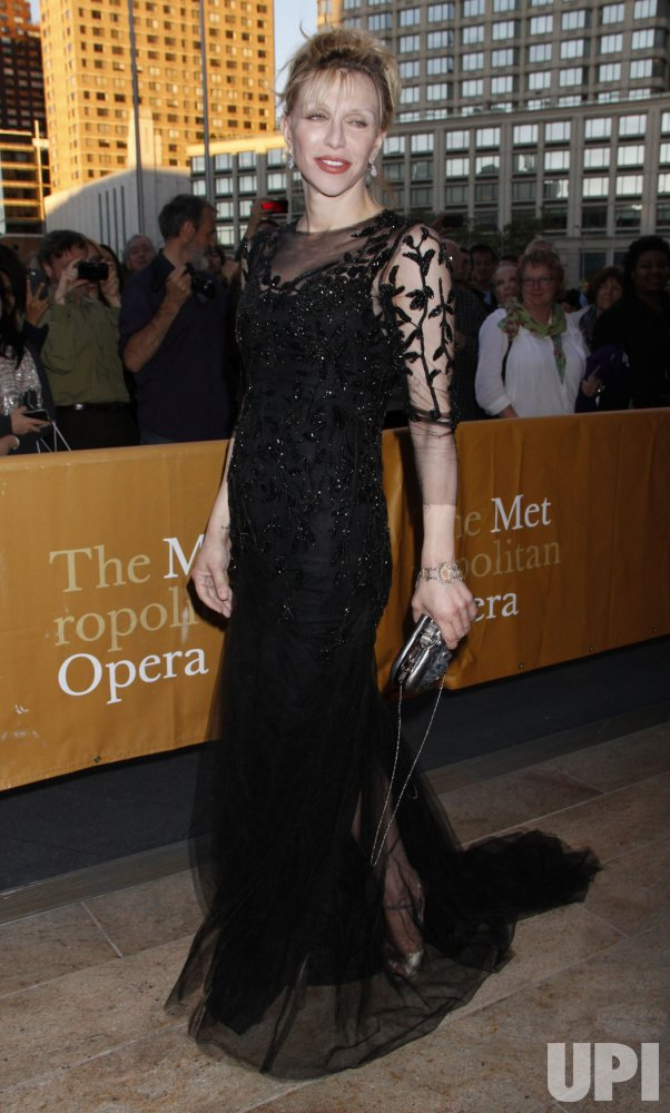 """Arrivals at the Metropolitan Opera Season Opening with Donizetti's """"L'Elisir D'Amore"""" in New York"""