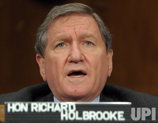 Holbrooke testifies on Pakistan strategy in Washington