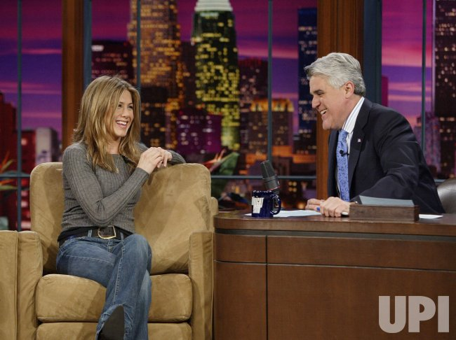 JENNIFER ANISTON ON JAY LENO