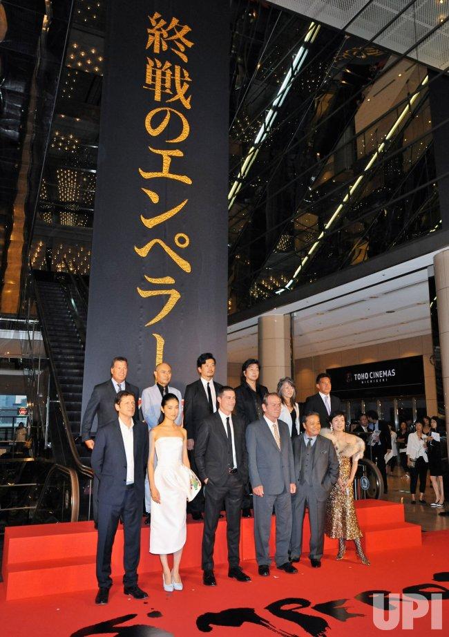 """""""Emperor"""" Japan premiere"""
