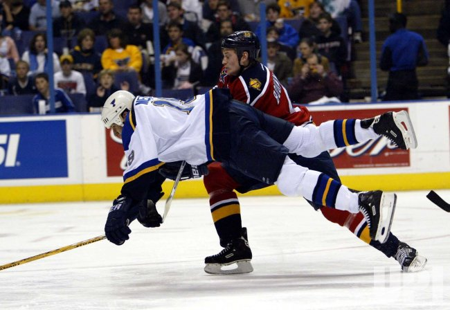 Flordia Panthers vs St. Louis Blues hockey