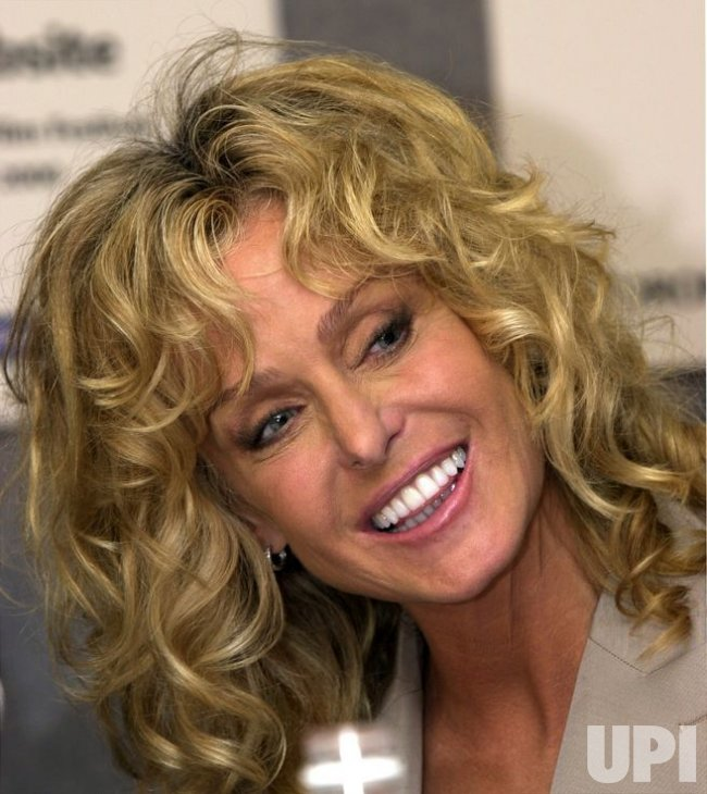 Farrah fawcett seen in a september 12 2000 file photo at the toronto