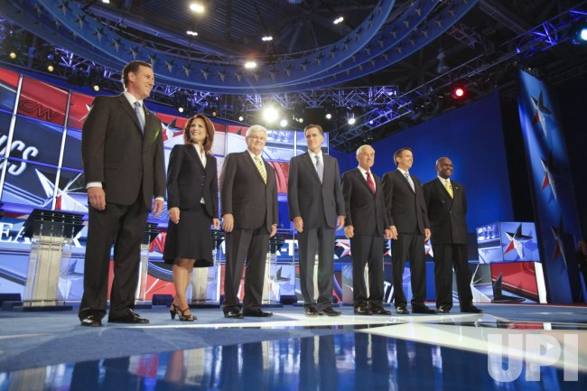 First Republican Presidential Debate for 2012 Elections