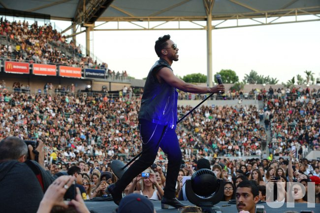 Miguel performs at KIIS FM's Wango Tango 2013 in Carson, California