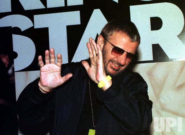 Ringo Starr promotes new album cd in New York