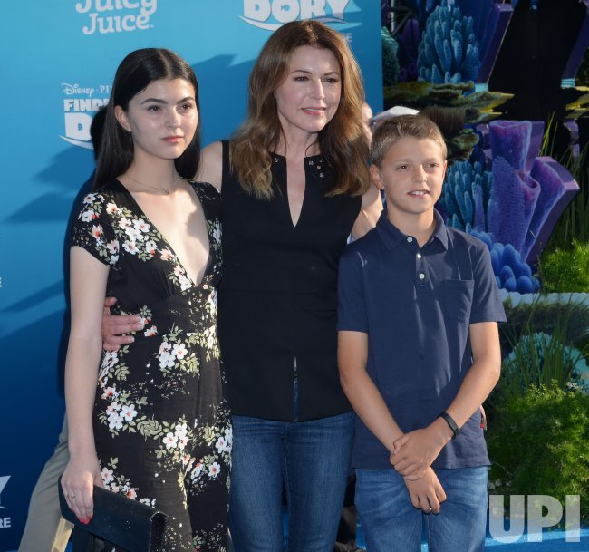 """Jane Leeves and children attend the """"Finding Dory ..."""