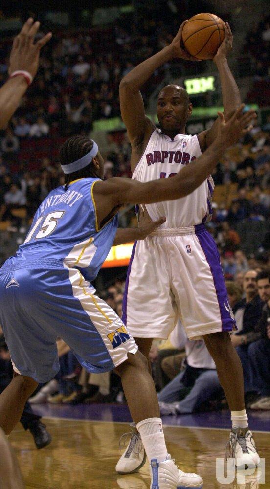 NBA BASKETBALL TORONTO RAPTORS VS. DENVER NUGGETS - UPI.com