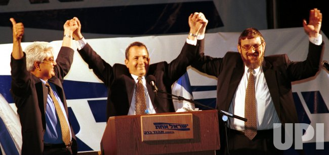 Barak's first days as Prime Minister