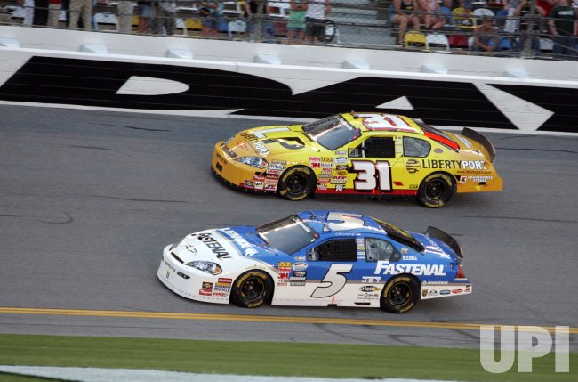 NASCAR Nationwide Jalapeno 250 at Daytona Beach, Florida