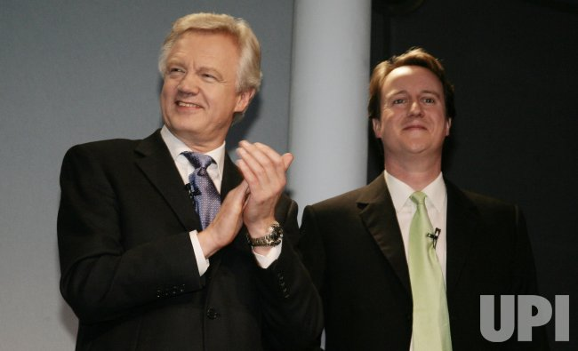 DAVID DAVIS ADMITS DEFEAT TO RIVAL DAVID CAMERON