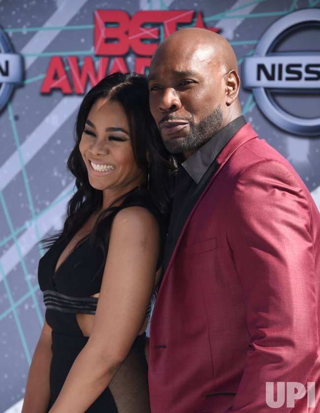 Regina Hall and Morris Chestnut attend the BET Awards in Los Angeles