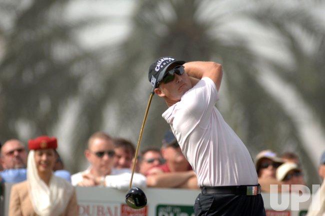 SWEDEN'S HENRIK STENSON WINS DUBAI DESERT CLASSIC