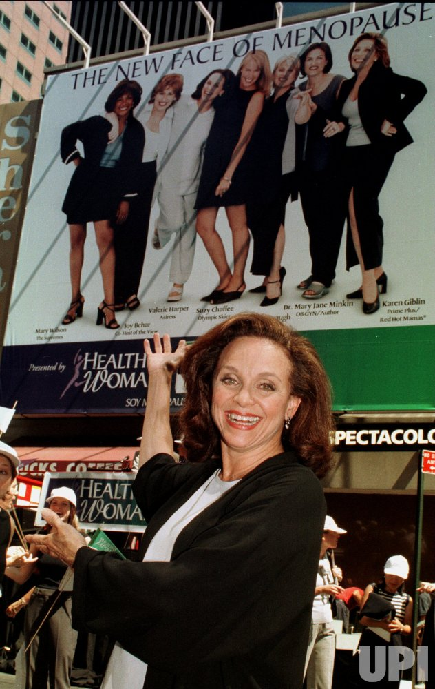 Ground breaking Times Square billboard on menopause