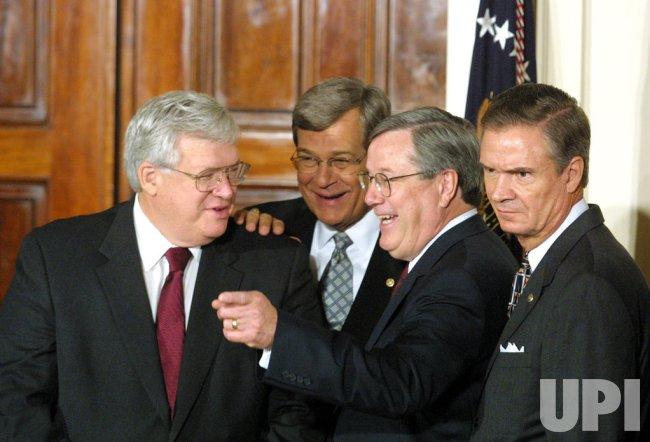 President Bush signs tax relief bill