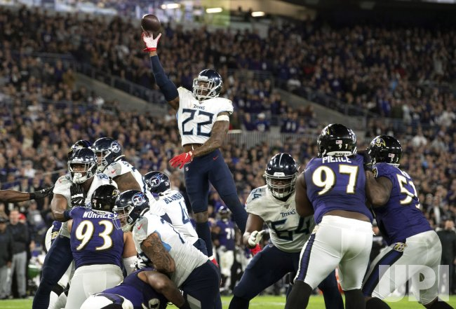 Tennessee Titans vs Baltimore Ravens Division Playoffs