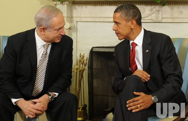 Israeli PM Netanyahu meets with President Obama in Washington
