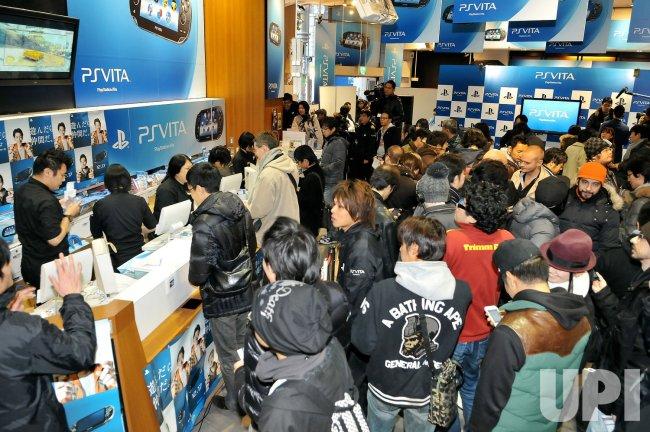 PlayStation Vita released in Japan