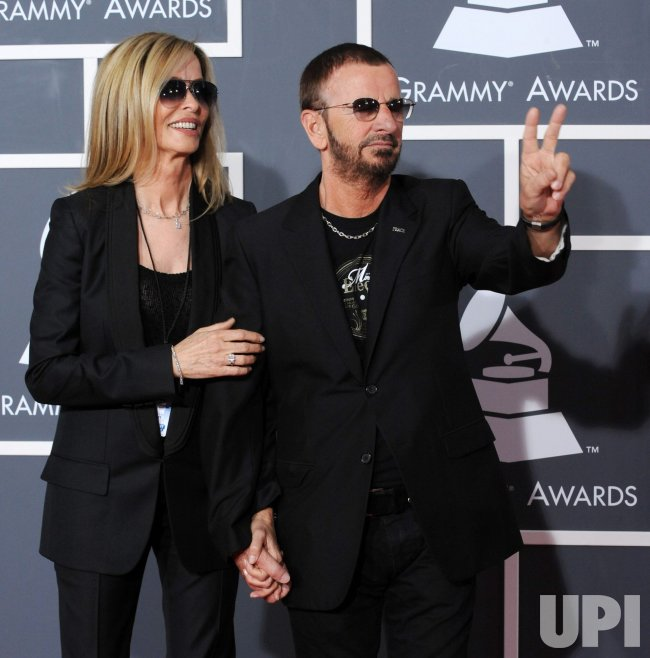 Ringo Starr and Barbara Bach arrive at the 52nd annual ...