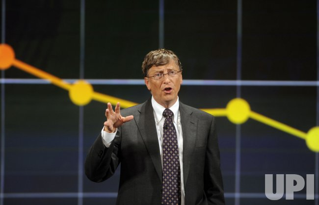 Bill and Melinda Gates speak on global health initiatives in Washington
