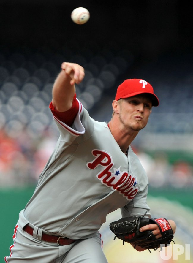Philadelphia Phillies Kyle Kendrick in Washington
