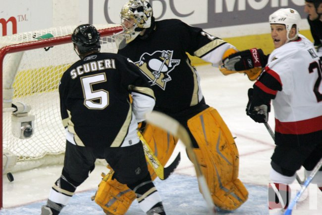 PITTSBURGH PENGUINS VS OTTAWA SENATORS EASTERN CONFERENCE QUARTERFINALS