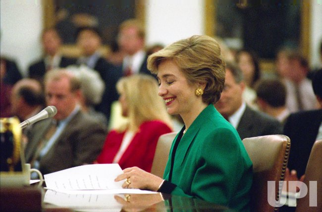 Hillary Clinton testifies to House Ways and Means Committee on a national health plan