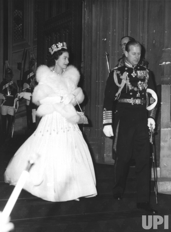 STATE OPENING OF PARLIAMENT BY QUEEN ELIZABETH II IN 1966