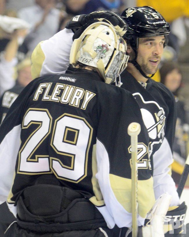 Penguins Win Game One of Payoffs 5-0 in Pittsburgh