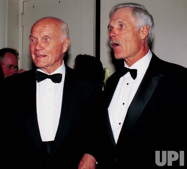 Senator John Glenn honored by United Nations Ambassadors