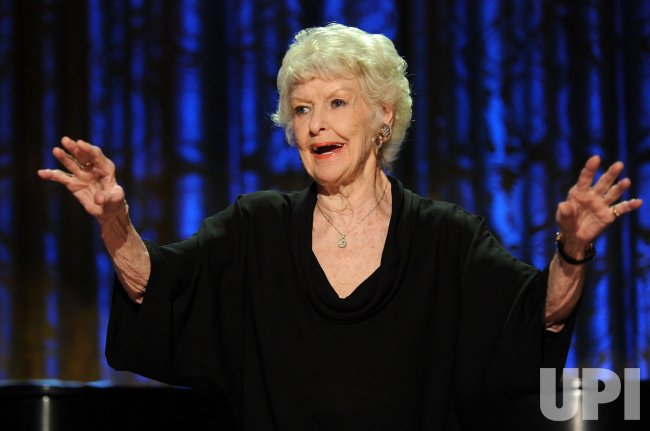 Elaine Stritch performs at a White House music series concert saluting Broadway in Washington