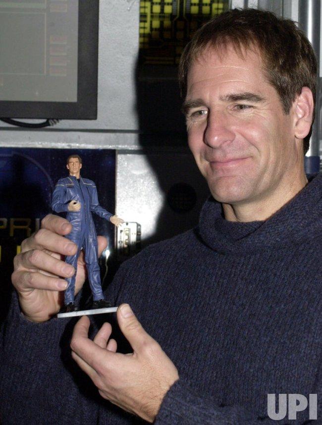 Enterprise tv series star Scott Bakula unveils his toy action figure