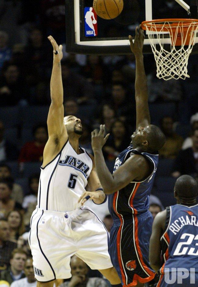 Charlotte Bobcats vs Utah Jazz