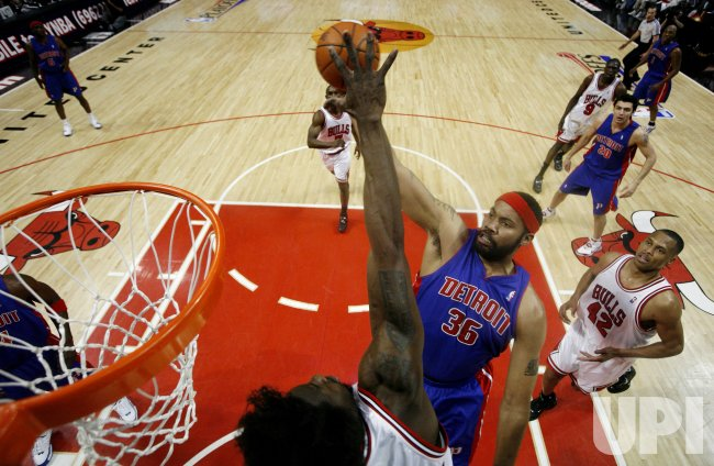 EASTERN CONFERENCE SEMIFINALS DETROIT PISTONS VS CHICAGO BULLS