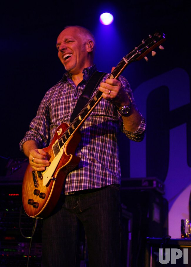 Peter Frampton appears at the Consumer Electronics Show in Las Vegas